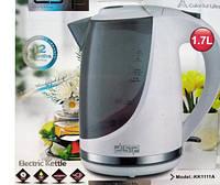 Чайник Электрический Пластиковый DSP KK1111 A Обьем 1,7 Л, фото 1