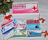 Сладкая юморная аптечка. Поздравлять нужно с юмором))) 8 упаковок, фото 1