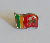 Значок флаг Шри-Ланки