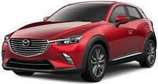 Поперечины на рейлинги Mazda CX 3 (2015 - ...)