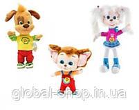 Барбоскины Роза, Дружок,Малыш мягкая игрушка 33 см музыкальная, фото 7