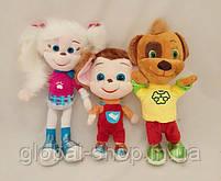 Барбоскины Роза, Дружок,Малыш мягкая игрушка 33 см музыкальная, фото 8