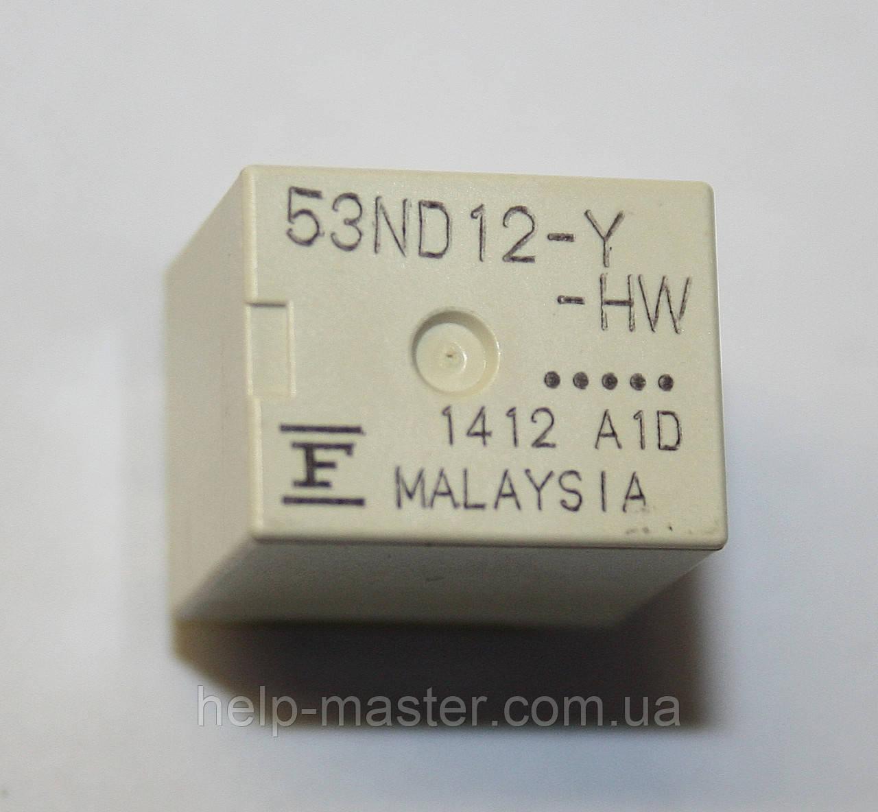 Реле 53ND12-Y-HW (12VDC)