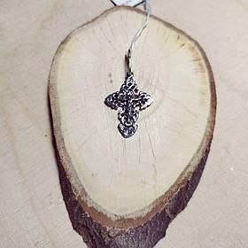 Оригинальный серебряный крест, 1,70 грамма