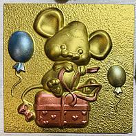 Шоколадная мышка. Мышь из шоколада. Шоколадные подарки к Новому Году 2020