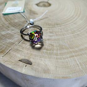 Кольцо серебряное с кристаллами Swarovski, р16-19