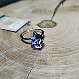 Кільце срібне з кристалами Swarovski, р16-18,5, фото 3