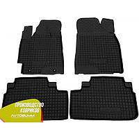 Резиновые коврики в салон Toyota Highlander 2 тойота хайлендер 2 2007- Avto-Gumm Автогум гумові килимки