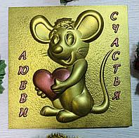 Шоколадные Новогодние подарки. Шоколадная мышка на Новый Год. Мышка из шоколада к Новому Году