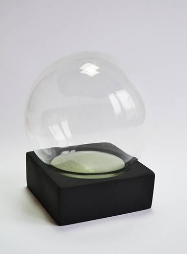 Набор для создания Снежного шара 120 мм (черная подставка)