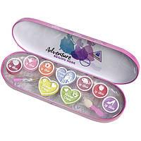 Markwins  Princess Игровой набор детской декоративной косметики для лица в пенале мал.