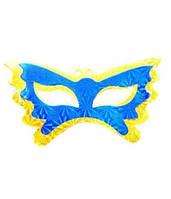 """Маска карнавальная """"Голограмма"""" бумага, голубая, карнавальные маски, карнавальный костюм, венецианские маски"""