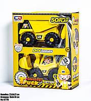 Игровой набор для мальчиков Строительная техника 0777B