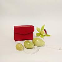 """Массажер нефритовый """"Шары Венеры"""" вагинальные шарики в футляре (13х7х6 см) (Fine), фото 1"""