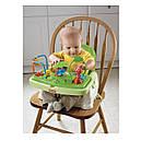 Детский стульчик бустер для кормления Джунгли, Тропический лес Fisher Price Rainforest Booster, фото 3