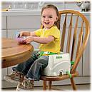 Детский стульчик бустер для кормления Джунгли, Тропический лес Fisher Price Rainforest Booster, фото 4