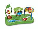 Детский стульчик бустер для кормления Джунгли, Тропический лес Fisher Price Rainforest Booster, фото 5