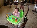 Детский стульчик бустер для кормления Джунгли, Тропический лес Fisher Price Rainforest Booster, фото 6