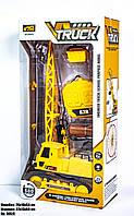 Машина КРАН, модель 8051E,игрушка для мальчиков, цвет жёлтый, в коробке