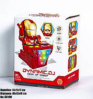 Игрушка для девочек IRON MAN DJ, модель 6619B, цвет красный, в коробке