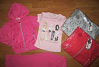 Трикотажный костюм тройка   на девочек 116/146 см