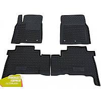 Резиновые коврики в салон для Toyota Land Cruiser 200 ленд крузер 200 2012- Avto-Gumm Автогум гумові килимки