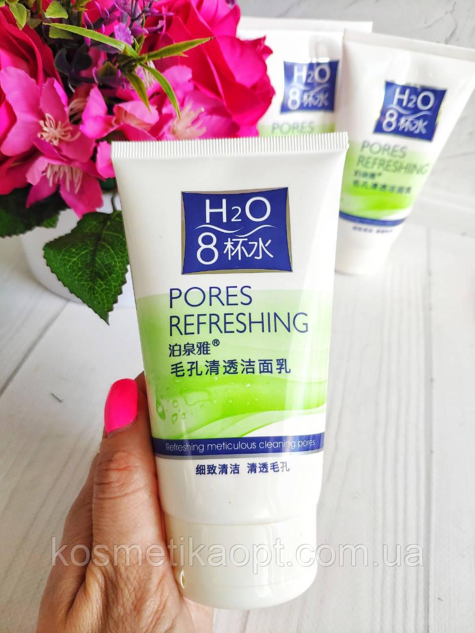 Пенка для очистки пор BioAqua H2O Pores Refreshing