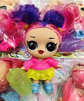 Кукла Лол с волосами / планшет 16  штук