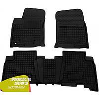 Резиновые коврики в салон Toyota Land Cruiser Prado 150 тойота ленд крузер прадо 150 10-/13- Avto-Gumm Автогум