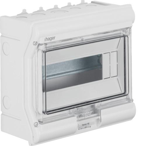 Щит пылевлагостойкий 6 модулей IP65 Hager VECTOR VE106DN