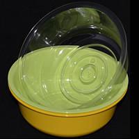 Миска GS-382 стеклопластик, 700мл, разные цвета, Миски, Кухонная посуда, Кухонные принадлежности, Посуда кухонная и аксессуары