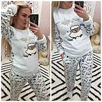 Теплая женская махровая пижама Турция LA-4325, фото 1