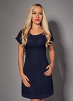 Стильное летнее платье из прошвы