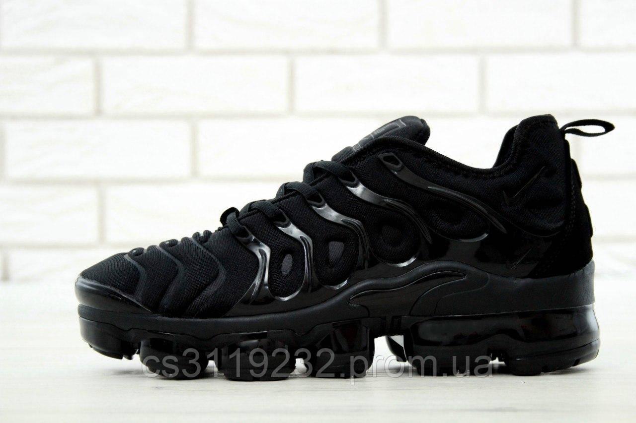 Женские кроссовки  Nike VaporMax Plus Triple Black (черный)