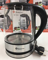 Чайник Стеклянный Электрический Domotec DT-1316