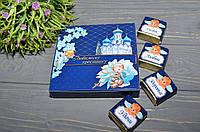 Шоколадный набор Любимому Крестнику (птичье молоко), фото 1