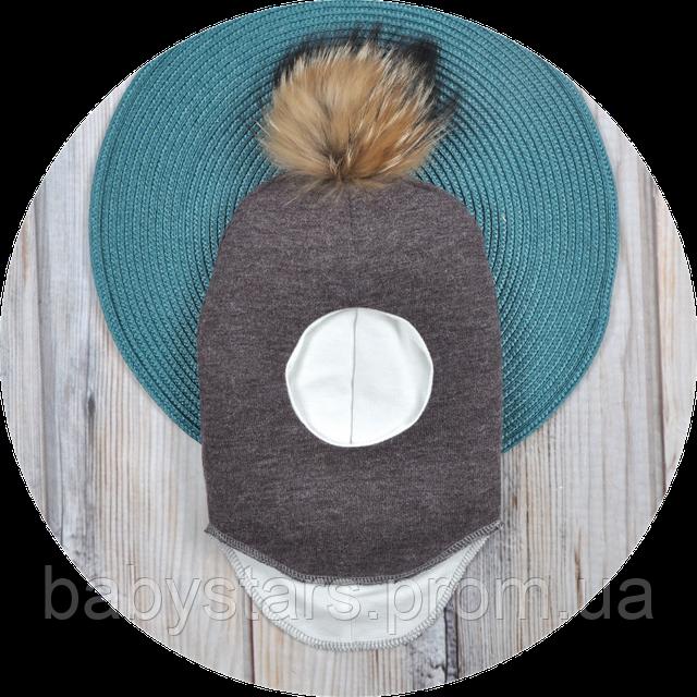 Детская шапка шлем