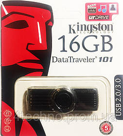USB 2.0 Flash Drive Kingston 16GB(флешка)