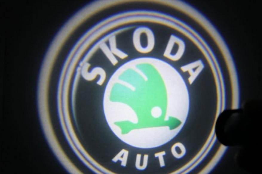 Підсвічування дверей Skoda врізні