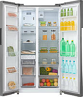 Холодильник HC-689WEN WG Midea Side-by-Side