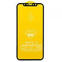 "Захисне скло Fire King 6D iPhone X XS 5,8"" Black"