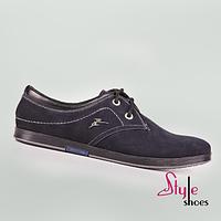 Мужские нубуковые туфли, фото 1