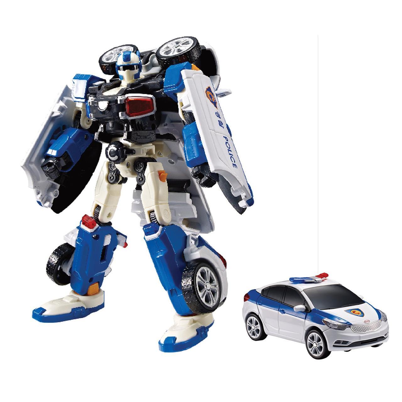Игрушка-трансформер Tobot Rescue Полиция C  301014
