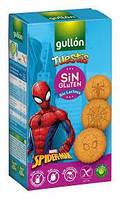 Печенье без глютена, лактозы и яиц Spider-Man Tuestis Gullon 400г  Испания