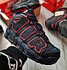 Зимние мужские кроссовки Nike Air More Uptempo с мехом (2 ЦВЕТА), фото 5