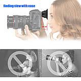 1.51X видоискатель с фиксированным фокусом окуляр наглазник лупа для Canon Nikon sony Pentax Olympus Fujifilm, фото 2