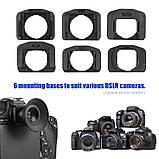 1.51X видоискатель с фиксированным фокусом окуляр наглазник лупа для Canon Nikon sony Pentax Olympus Fujifilm, фото 4