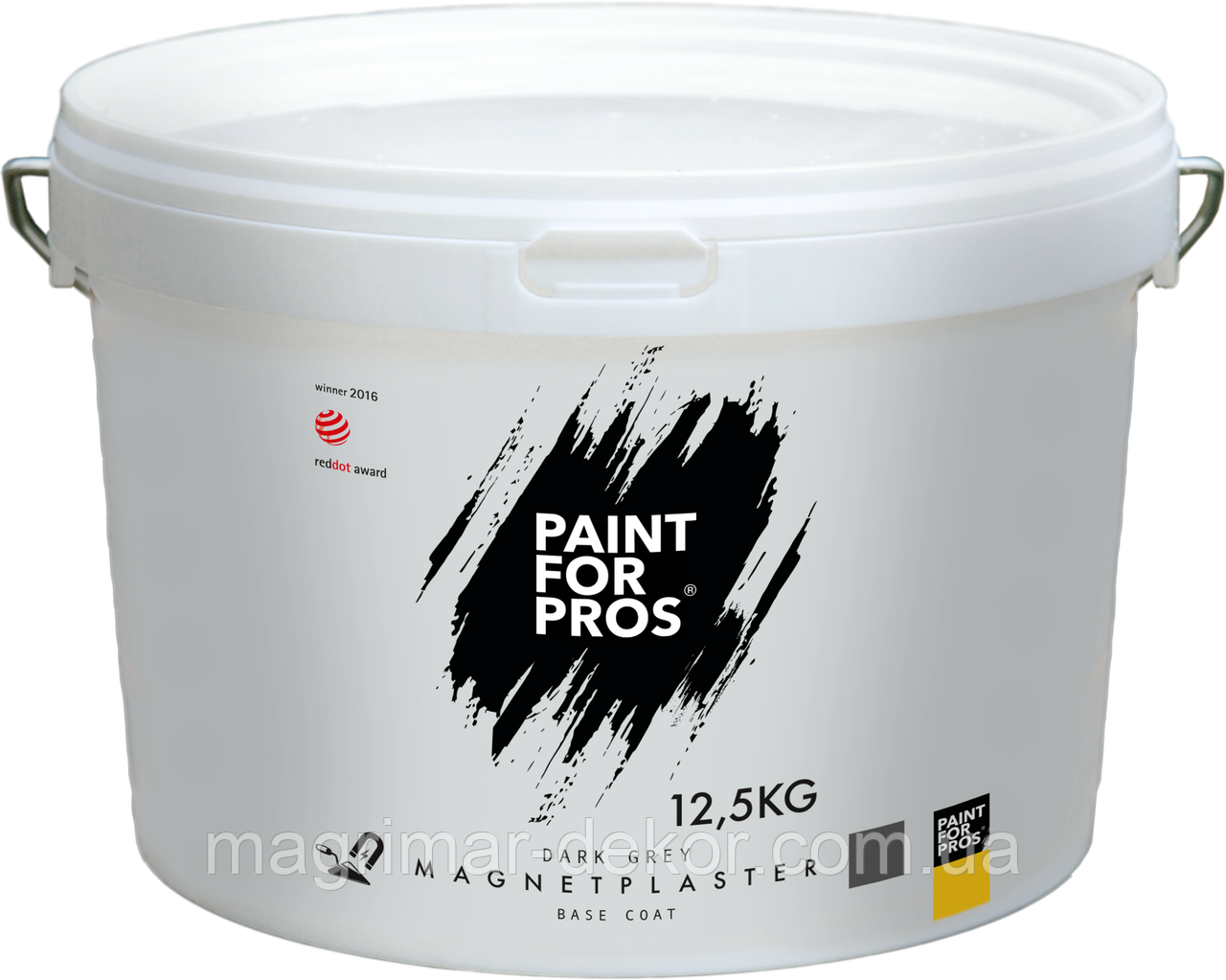 Магнитная штукатурка PaintforPro's Magnet Plaster 12,5 кг