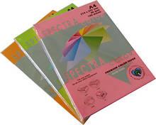 Бумага А4 цветная офисная