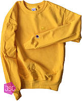 Мужской свитшот регланChampion (ориг.бирка) желтый